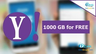 Get 1000 GB of Cloud Storage from YAHOO for FREE (2017)