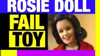 FAIL BARBIE Rosie O'Donnell Doll Toy Funny Video Review Mike Mozart of JeepersMedia EPIC