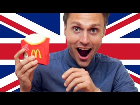 watch Americans Try British McDonald's
