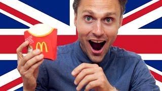 Americans Try British McDonald