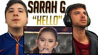 Sarah Geronimo Hello By Adele  REACTION!