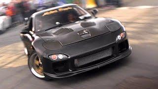 Mazda RX7 - Roundabout Drifting!