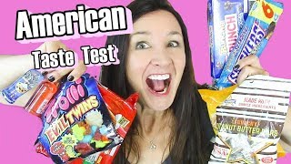 AMERICAN CANDY and SNACKS TASTE TEST Cheezits Peanut Butter bars