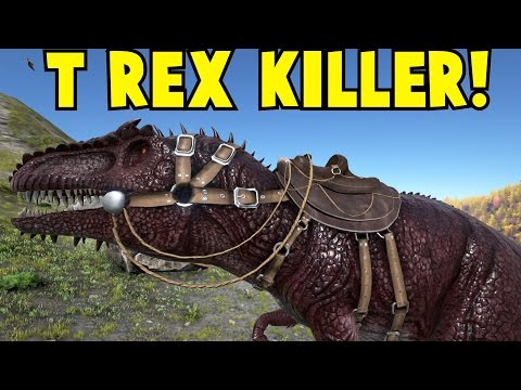 T Rex Killer Giganotosaurus Ark Survival Evolved