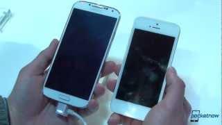 Galaxy S 4 vs iPhone 5 Quick Comparison