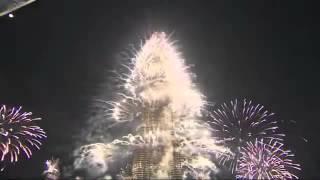 برج خليفة دبي احتفالات راس السنة 2015 Burj Khalifa Downtown Dubai New Year's Celebrations 2015   Y