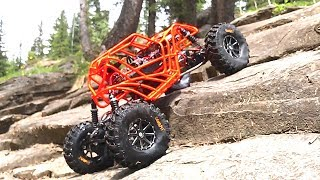 RC ADVENTURES - LEARNiNG to ROCK BOUNCE - TANGO - MOA REAR STEER BOUNCER
