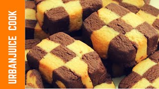 Checkerboard and Marble Cookies Made Easy