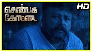 Shenbaga Kottai Movie Scenes | Jayaram hallucinates | Jayaram decide to meet Om Puri | Saju