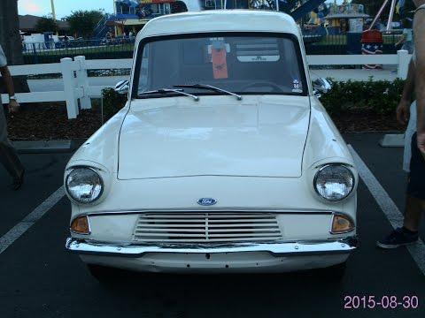 1964 Ford Anglia Van Wht OldTown080616