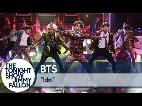 Xxx Mp4 BTS Performs QuotIdolquot On The Tonight Show 3gp Sex