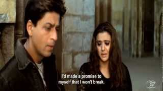 Best romantic moment & dialogues  from VEER-ZARA (Shahrukh Khan)