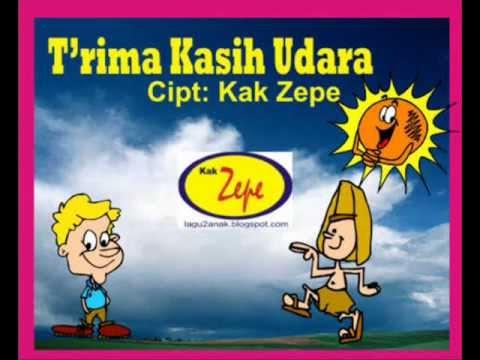 TERIMA KASIH UDARA - Lagu ANak Indonesia Karya Kak Zepe TK PAUD Usia Dini  , SAIns, Ilmu Alam