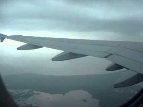 Aterrizando En Santa Marta Avion Viva Colombia Airbus A320 vuelo 8148