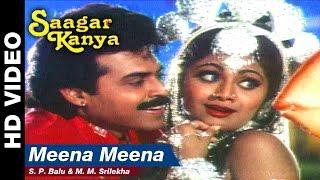 Meena Meena | Saagar Kanya | Venkatesh & Shilpa Shetty | S. P. Balu & M. M. Srilekha