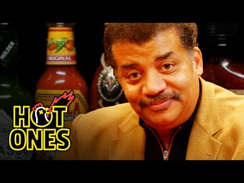 Xxx Mp4 Neil DeGrasse Tyson Explains The Universe While Eating Spicy Wings Hot Ones 3gp Sex