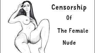 Censorship of Nude Art - The drawings that got my art channel banned on Twitch 2017