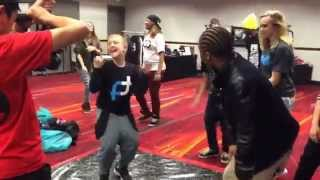 Uptown Funk - Bruno Mars- Spaz from 2CrazyAzBoys and Fik-Shun from SYTYCD- WOD VEGAS