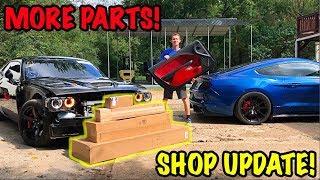 Rebuilding A Wrecked 2017 Dodge Hellcat Part 10