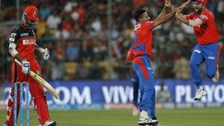 GL vs RCB, Qualifier 1| IPL 2016: Royal Challengers Bangalore won by 4 wickets