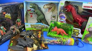 DINOSAURS TOYS FOR KIDS ! Dinosaurs Jurassic World T-Rex,Dragon ..video for kids
