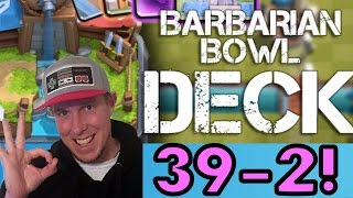 Clash Royale BEST DECK FOR ARENA 3 | 39-2 RECORD! Baby Dragon + Giant Strategy