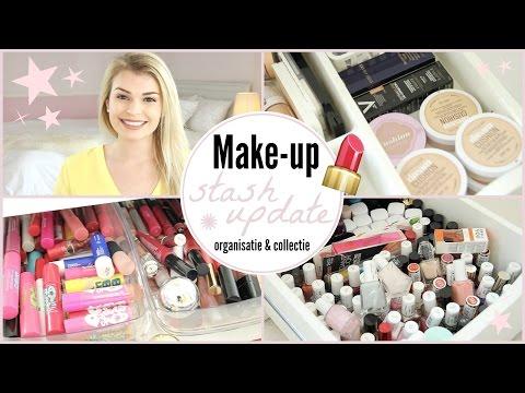Make-Up Stash Tour - Organisatie & collectie!| Lifestyle Spot