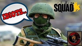 Biggest bunch of mongs - SQUAD Gameplay