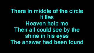 axel rudi pell - temple of the king with lyrics