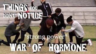 BTS THINGS YOU DIDN'T NOTICE IN WAR OF HORMONE DANCE PRACTICE