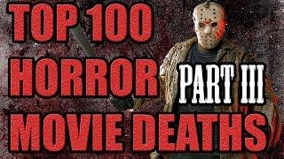 Top 100 Horror Movie Deaths (Part III) #60-#41