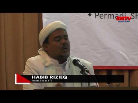 Habib Rizieq: Ulama Dan Tokoh Nasionalis Terbukti Cinta NKRI