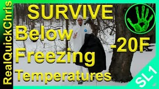 Do you have this one item for Emergency survival in below freezing temperatures?