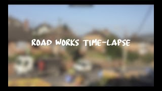 Road Works Time-lapse