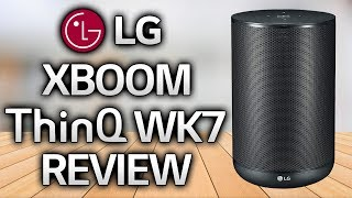 LG XBOOM AI ThinQ WK7 REVIEW - A Brilliant Google Home Speaker