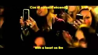 Heart On Fire - Scene LOL Movie - Subtitulado en Español (Lyrics)