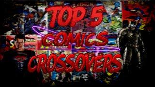 ТОП 5 КОМИКС КРОССОВЕРОВ (Marvel,DC and DarkHorse Comics)