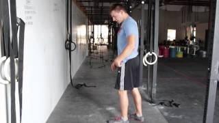 How to get into a Handstand for CrossFit workouts - TechniqueWOD