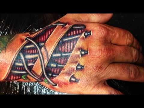 Best 3D Tattoos 3D Hand Tattoo Designs ► Part 1