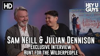 Sam Neill & Julian Dennison Exclusive Interview - Hunt for the Wilderpeople