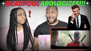 """Deadpool 2 | With Apologies to David Beckham"" REACTION!!"