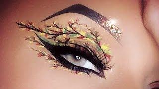 Fall Leaves Makeup Tutorial