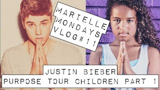 Marielle Monday Vlog #11 - Justin Bieber #PurposeTourChildren Part 1
