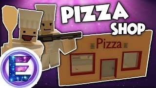 PIZZA SHOP - ROBBED 3 TIMES !? - Unturned RP (Funny Moments)