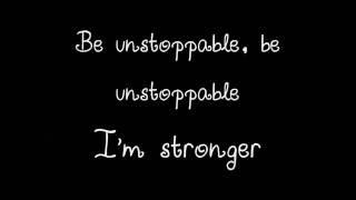 Chloe & Halle - Unstoppable (Lyrics)