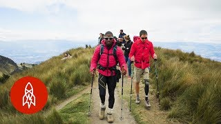 Amputees Climb a Volcano for a Cause