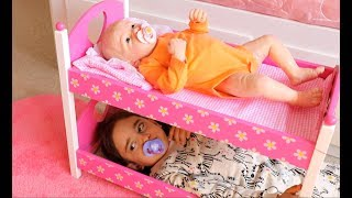 Baby Born Boy Doll Potty Training pees  / Feeding, Changing