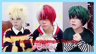 Bakugou Anger Management Therapy Session| My Hero Academia Cosplay Parody (TodoDekuBaku)