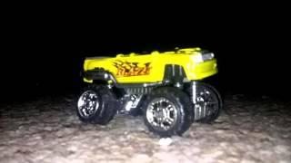 Truck toy crush