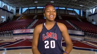 Meet LMU Women's Basketball Freshman Jasmine Jones